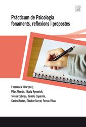 Pràcticum de psicologia : fonaments, reflexions i propostes.
