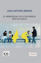 El aprendizaje de la tolerancia : bases psicológicas.