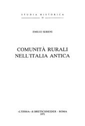 Comunità rurali nell'Italia antica