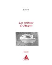 Les écritures de Maigret