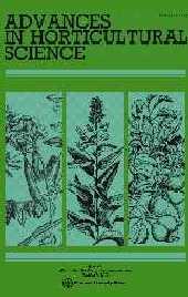 Advances in horticultural science [rivista dell'ortoflorofrutticoltura italiana] -  - Firenze : Firenze University Press
