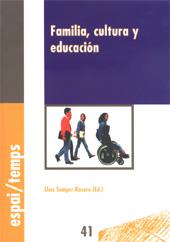 Familia, cultura y educación