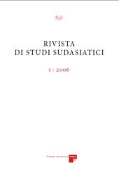 Rivista di studi sudasiatici -  - Firenze : Firenze University Press