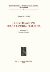 Conversazioni sulla lingua italiana