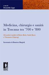 Medicina, chirurgia e sanità in Toscana tra '700 e '800