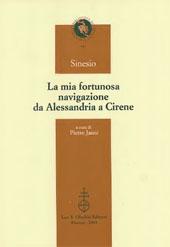 La mia fortunosa navigazione da Alessandria a Cirene : epistola 4/5 Garzya