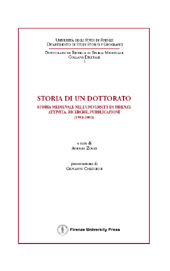 Storia di un dottorato : storia medievale nell'Università di Firenze ...