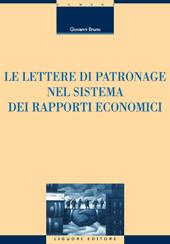 Le lettere di patronage nel sistema dei rapporti economici