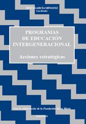 Programas de educación intergeneracional : acciones estratégicas