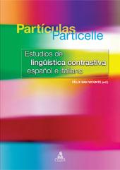 Partículas = Particelle : estudios de lingüística contrastiva español e italiano