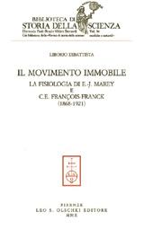 Il movimento immobile : la fisiologia di E.-J. Marey e C. E. François-Franck : 1868-1921