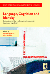 Language, cognition and identity : extension of the endocentric/ exocentric language typology