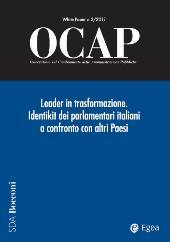 Leader in trasformazione : identikit dei parlamentari a confronto con altri Paesi