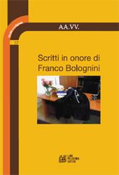 Scritti in onore di Franco Bolognini
