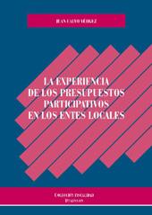 La experiencia de los presupuestos participativos en los entes locales