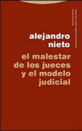 El malestar de los jueces y el modelo judicial