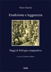 Erudizione e leggerezza : saggi di filologia comparativa