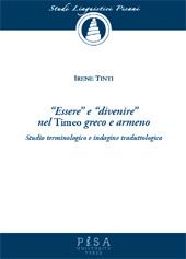 Essere e divenire nel Timeo greco e armeno : studio terminologico e indagine traduttologica