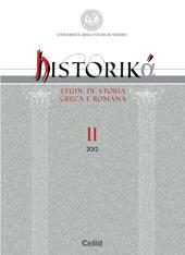 Historikà : studi di storia greca e romana -  - Torino : Celid