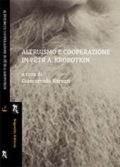 Altruismo e cooperazione in Pëtr Alekseevič Kropotkin