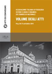 Volume degli atti : XVI Congresso nazionale : Pisa, 19-21 settembre 2014, Polo Porta Nuova, via Bruno Fedi, Pisa