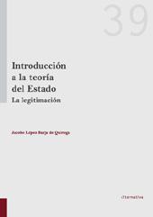 Introducción a la teoría del estado : la legitimación