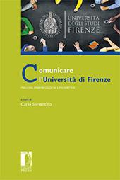 Comunicare l'Università di Firenze : percorsi, sperimentazioni e prospettive