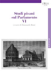 Studi pisani sul Parlamento, VI