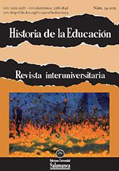 Historia de la educación : revista interuniversitaria -  - Salamanca : Ediciones Universidad de Salamanca