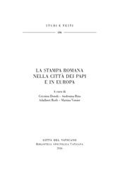 La stampa romana nella città dei papi e in Europa