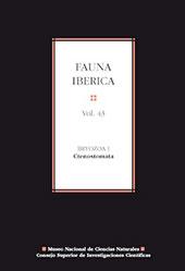 Fauna ibérica : vol. 43 : Bryozoa I : Ctenostomata