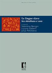 Le lingue slave tra struttura e uso