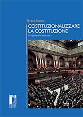 Costituzionalizzare la Costituzione : una prospettiva pleromatica