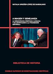 A imagen y semejanza : la democracia cristiana alemana y su aportación a la Transición española