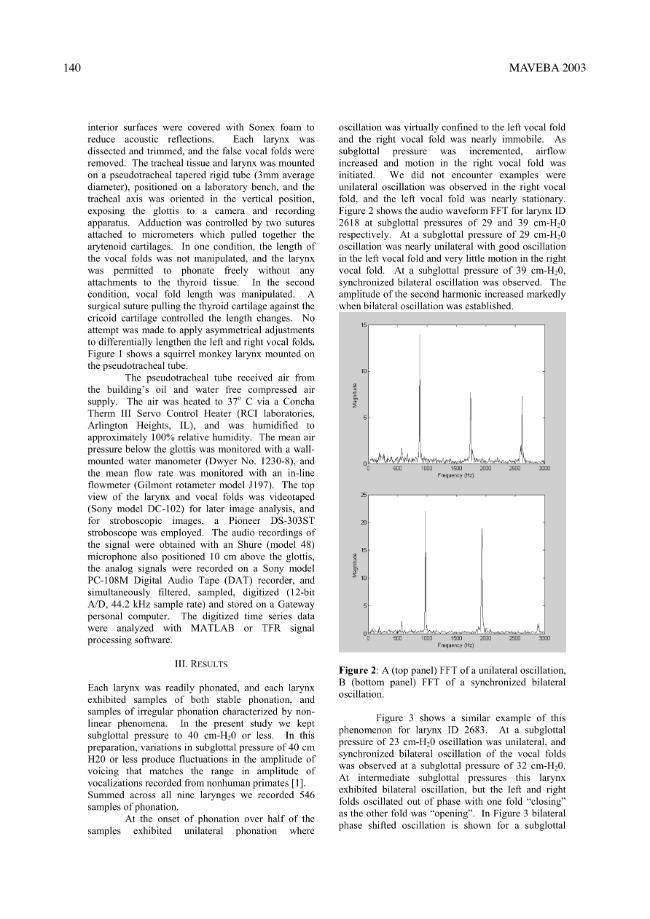 Models and analysis of vocal emissions for biomedical applications : 3rd International workshop ... - [Manfredi, Claudia] - [Firenze : Firenze University Press, 2003.]