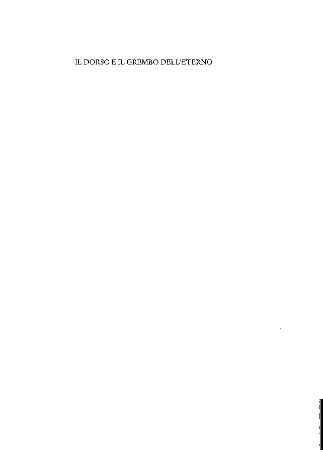 Il dorso e il grembo dell'eterno : percorsi della filosofia di Giordano Bruno - [Canone, Eugenio] - [Pisa : Istituti editoriali e poligrafici internazionali, 2003.]