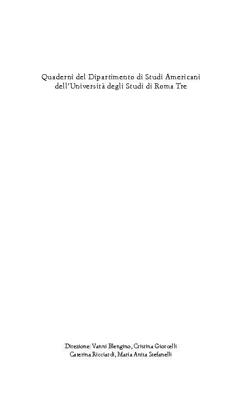 La relatività simbolica : realtà e parola nel naturalismo critico americano - [Marolda, Paolo] - [Reggio Emilia : Diabasis, 2006.]