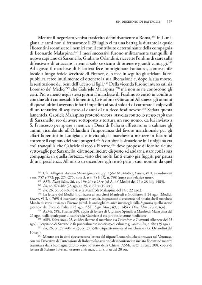 Gabriele Malaspina, marchese di Fosdinovo : condotte, politica e diplomazia nella Lunigiana del Rinascimento - [Meli, Patrizia] - [Firenze : Firenze University Press, 2008.]