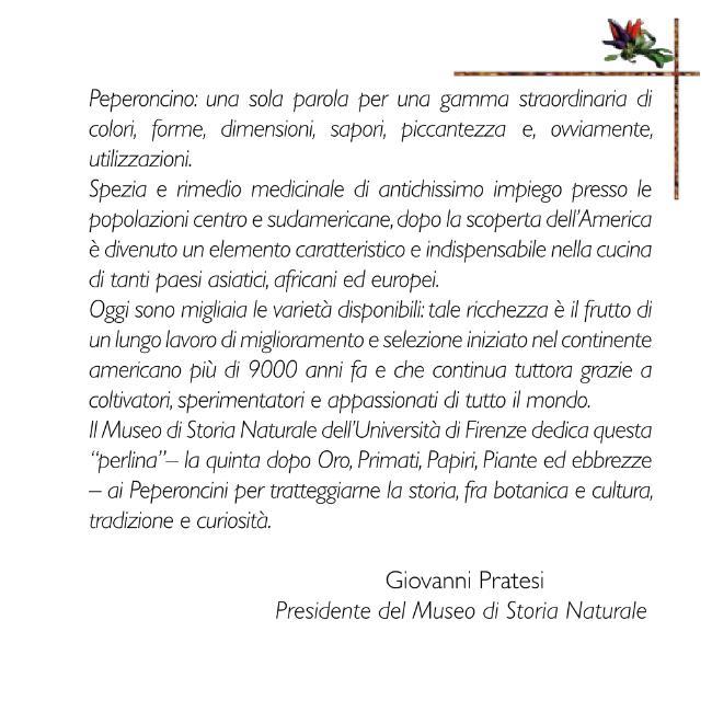 Peperoncini - [Clauser, Marina ; Grigioni, Andrea ; Landi, Mario] - [Firenze : Firenze University Press, 2010.]