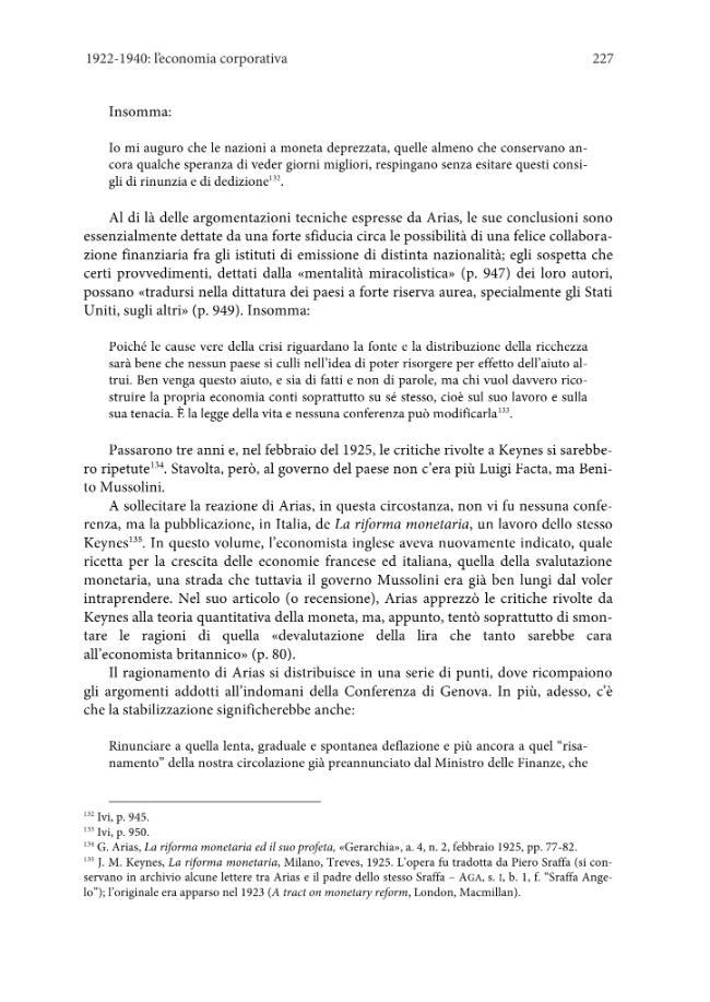 Gino Arias (1879-1940) : dalla storia delle istituzioni al corporativismo fascista - [Ottonelli, Omar] - [Firenze : Firenze University Press : Edifir, 2012.]