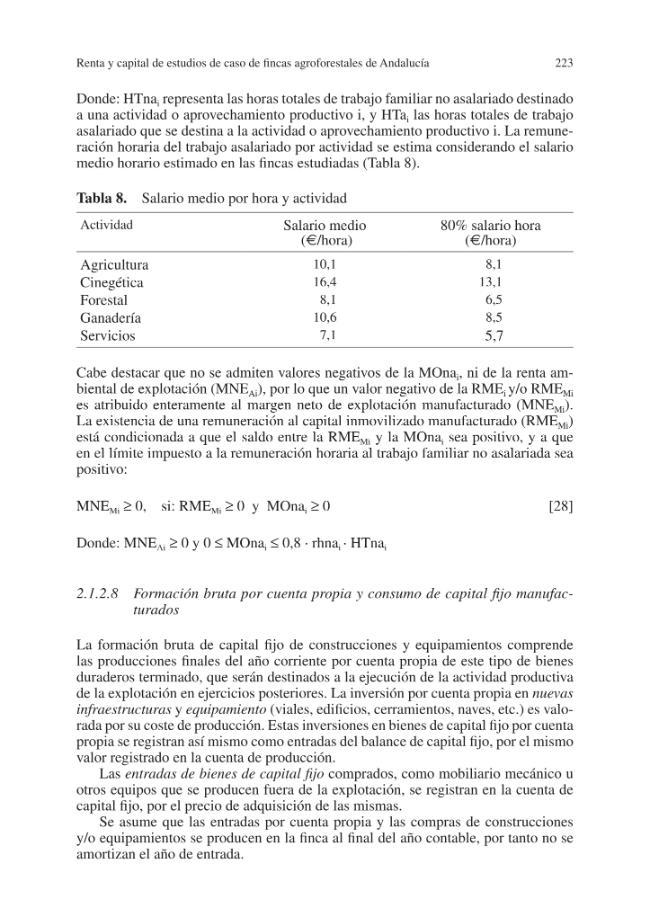 Memorias científicas de RECAMAN : vol. 4 :  renta total y capital de las fincas agroforestales de Andalucía - [Campos, Pablo, editor, Ovando, Paola, editor] - [Madrid : CSIC, Consejo Superior de Investigaciones Científicas, 2015.]